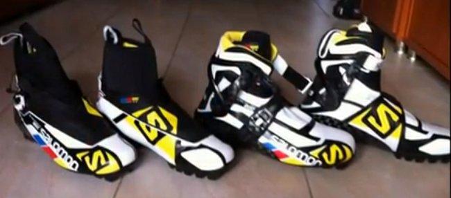 Salomon Ski Chaussures Nordique Retro Sur De Les pwnfqa